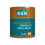 KGK – Završni brzosušivi premaz za drvo i metal 0,75L