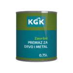 KGK – Završni premaz za drvo i metal 0,75L